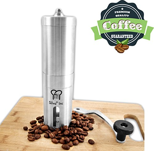 Silva Manual Coffee Grinder - Hand Coffee Bean Grinder ...