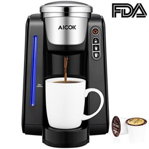 coffee maker aicok single serve programmable