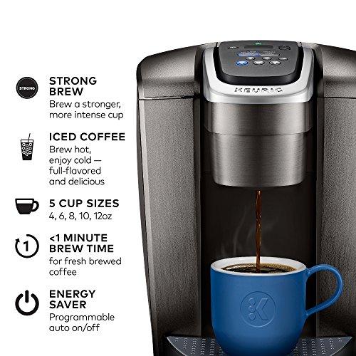 Keurig K-Elite Coffee Maker, Single Serve K-Cup Pod Coffee ...