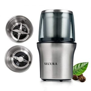 Secura Electric Coffee and Spice Grinder