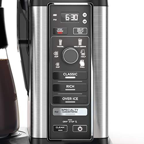 Ninja Specialty Coffee Maker, with 50 Oz Glass Carafe ...
